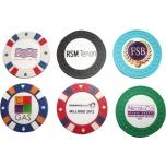Palli markerid 'Casino' -kahepoolne