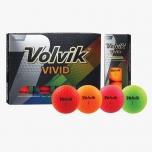 Golfipallid Volvik Vivid (pakendis 12tk)