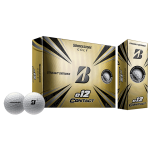 Golfipallid Bridgestone e12 Contact valged (pakendis 12tk)
