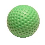 Roheline UV-blacklight helendav minigolfi pall