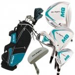 Ben Sayers M8 täissett naistele/noortele (grafiit/grafiit) tugijalgadega golfikott