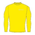 Givova spordipesu särk, kollane, M-suurus