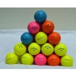 Kasutatud värvilised golfipallid (pakendis 12tk)
