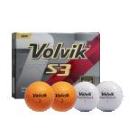 Golfipallid Volvik S3 (pakendis 12tk)