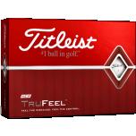 Logoga golfipallid Titleist TruFeel (pakendis 12tk)
